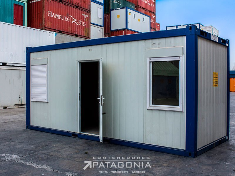 M dulos armables contenedores patagonia for Container oficina